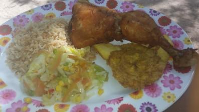 almoço cayo bolivar