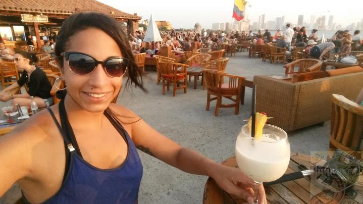 Piña Colada no Café del Mar