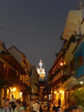A cidade iluminada